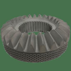 3D printed metal gear